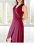 Inventory Sale: ELMORA Dress (Charcoal, Navy & Burgundy)