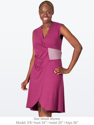 GLYNDON - Eco-Friendly Structured Dress