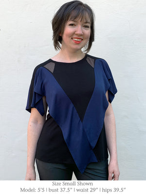 LAUREL – Top with Slit Sleeves