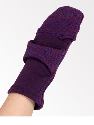 SIDNEY - Eco-Friendly Convertible Mittens / Fingerless Gloves