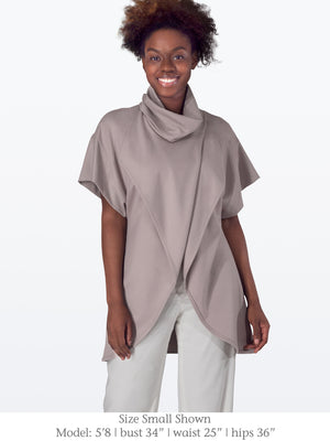 CAMERON - Structured Pregnancy Friendly Tunic