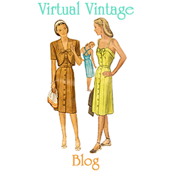 Virtual Vintage Sewing Pattern Blog