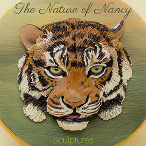 The Nature of Nancy polymer clay sculptures
