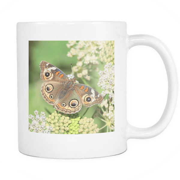 Brown Butterfly Mug
