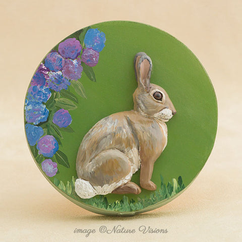 Cottontail Rabbit trinket box