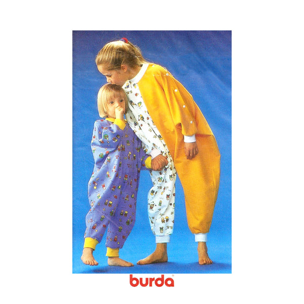 Burda 4725, Children's Pajama Pattern