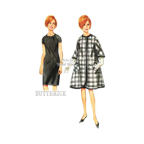 Butterick 4189 coat and dress