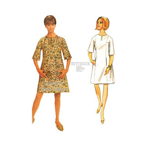 Jean Muir Dress Pattern, Butterick 4270