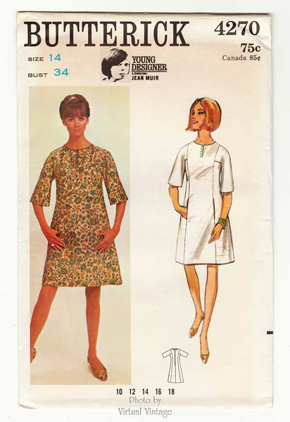 Butterick 4270, Jean Muir Dress Pattern