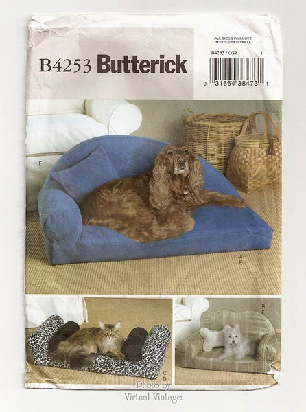 Butterick B4253, DIY Pet Bed Pattern