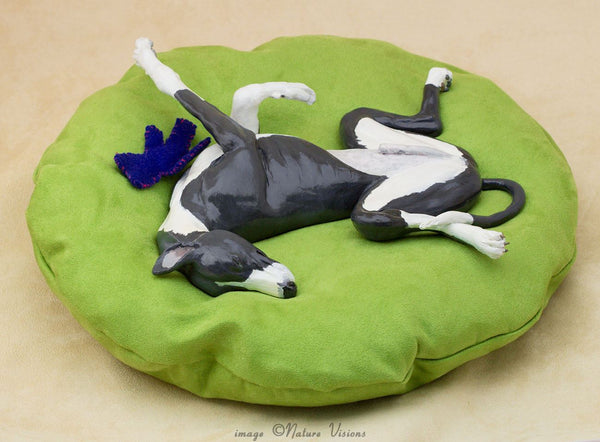 Roaching Greyhound figurine hound gifts