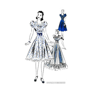 1930s Gown Pattern, Hollywood 1805