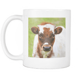 cute cow ceramic coffee mug farm animal gifts