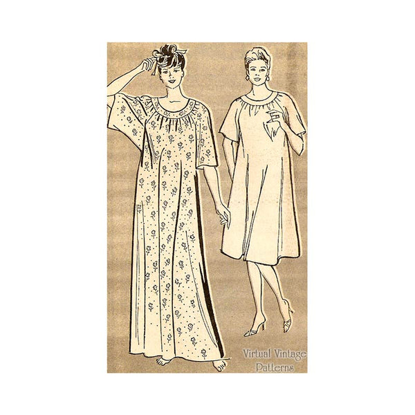 Womens Caftan Pattern, Mail Order 4062
