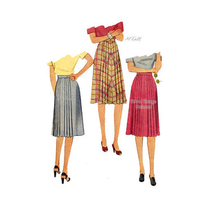 1940s Skirt Sewing Pattern, McCall 5174