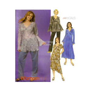 Plus Size Clothing Patterns, McCalls 4316