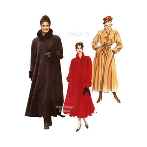 Swing Coat Pattern, McCalls 7947