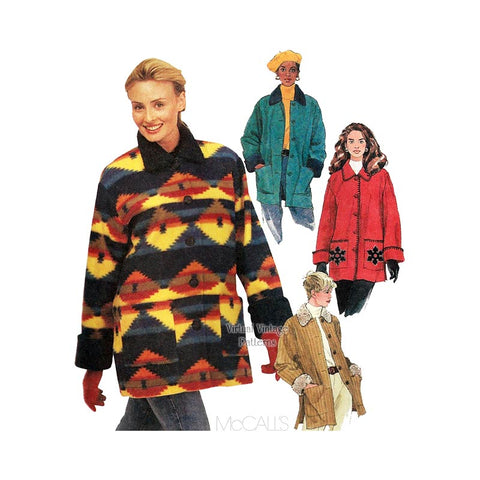 Womens Jacket Sewing Pattern, McCalls 9637