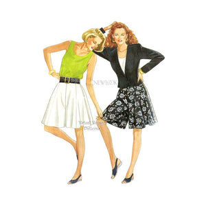 Womens Jacket & Culottes Sewing Pattern, New Look 6084