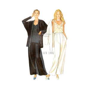 Womens Pant Suit Pattern, New Look 6314