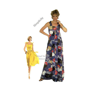 Maxi Sundress Pattern, Simplicity 5383