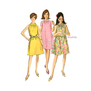 60s Tent Dress Pattern, Simplicity 7169