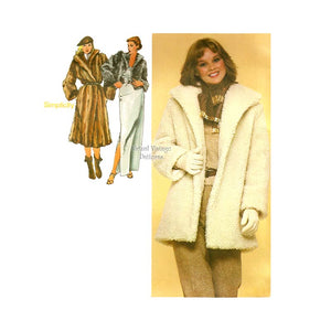 Winter Jacket Sewing Pattern, Simplicity 9754