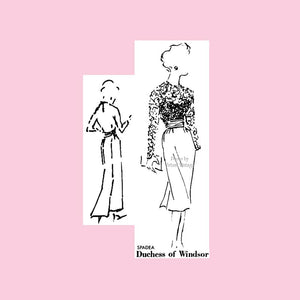 50s Duchess of Windsor Spadea Pattern #2