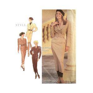 Womens Jacket & Skirt Patterns, Style 2326