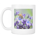 honey bee photo coffee cup