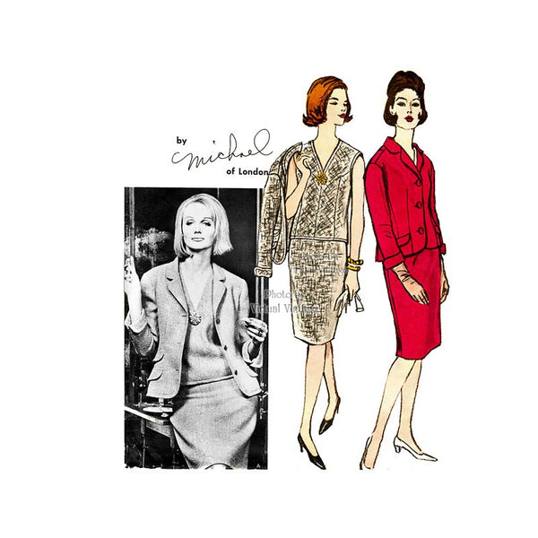 Vogue Couturier 1266, Womens Suit Pattern by Michael of London