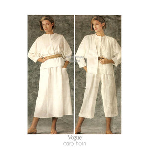 Carol Horn Clothing Pattern, Vogue American Designer 1347