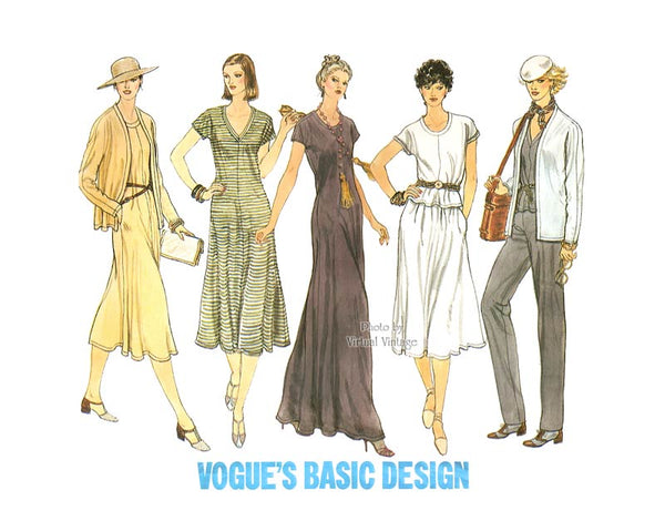 Stretch Knit Maxi Dress Pattern, Vogue 2151