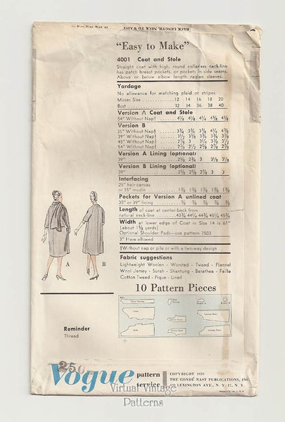 Vogue Special Design Pattern 4001