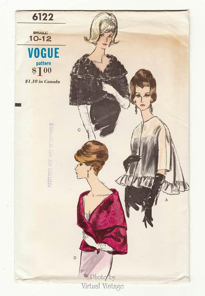 Vogue 6122, 1960s Cape Pattern