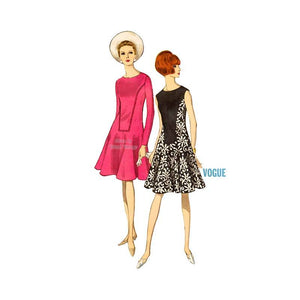 60s Mod Dress Pattern Vogue 6994