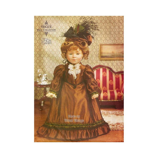 "Vogue Craft 7098 18"" Victorian Doll Dress Pattern, Historical Clothing, Uncut"