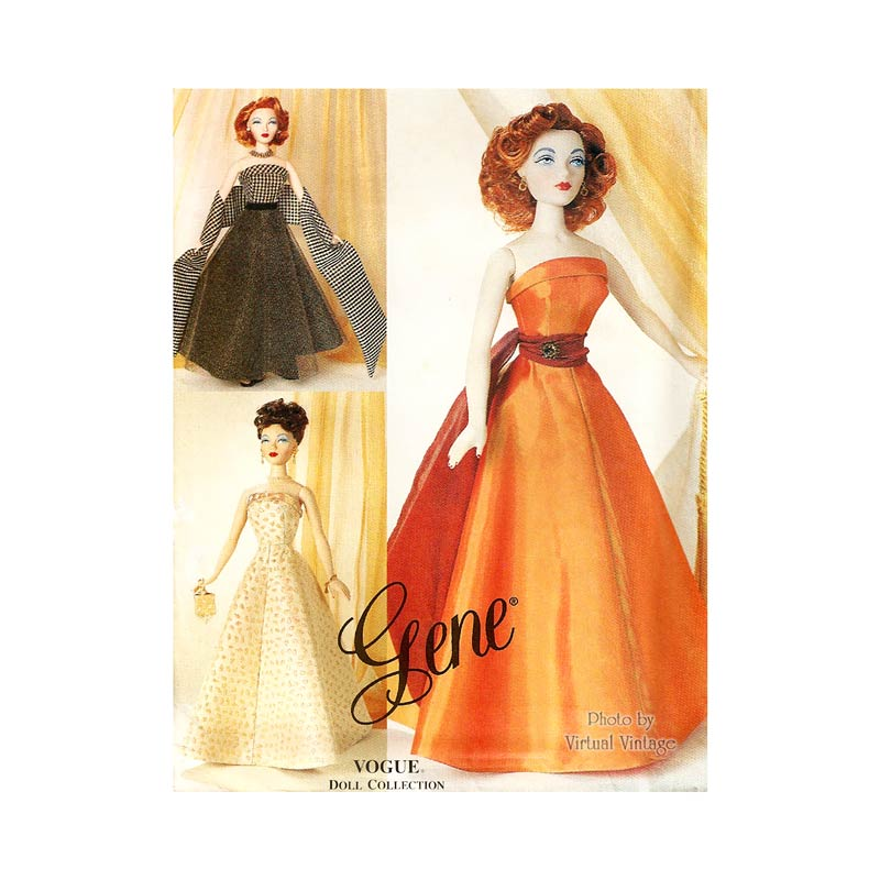 Vogue Doll Collection 7381, Gene Doll Pattern