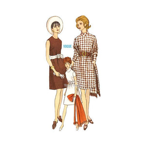 Vintage Dress Sewing Pattern Vogue 7439