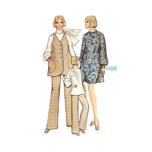 Vintage Maternity Clothes Pattern, Vogue 7795