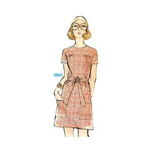 Vintage 1970s Dress Pattern, Very Easy Very Vogue 7800