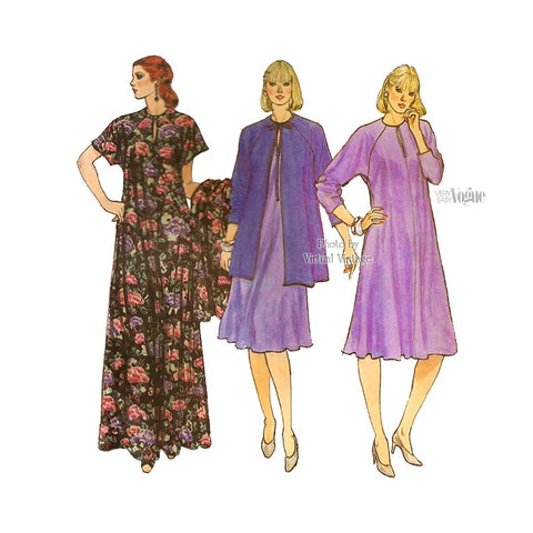 Maternity Kaftan Maxi Dress Pattern, Very Easy Vogue 8071
