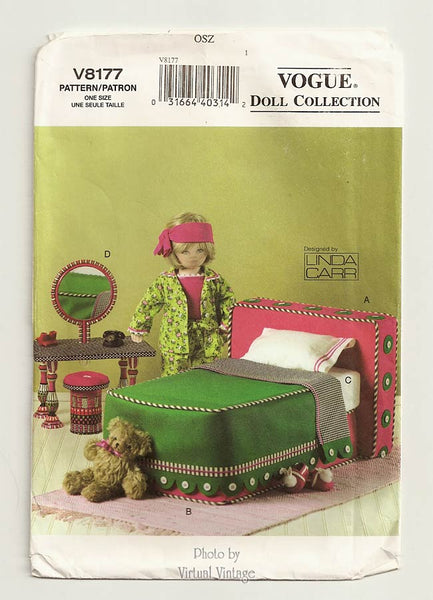 Vogue Doll Collection V8177 18 Inch Doll Furniture Pattern