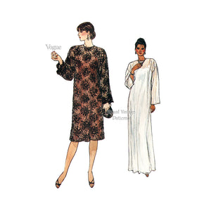 1980s Dress Pattern, Vogue 8862