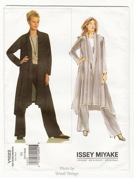 Issey Miyake Vogue Pattern V1022 Womens Jacket and Pants