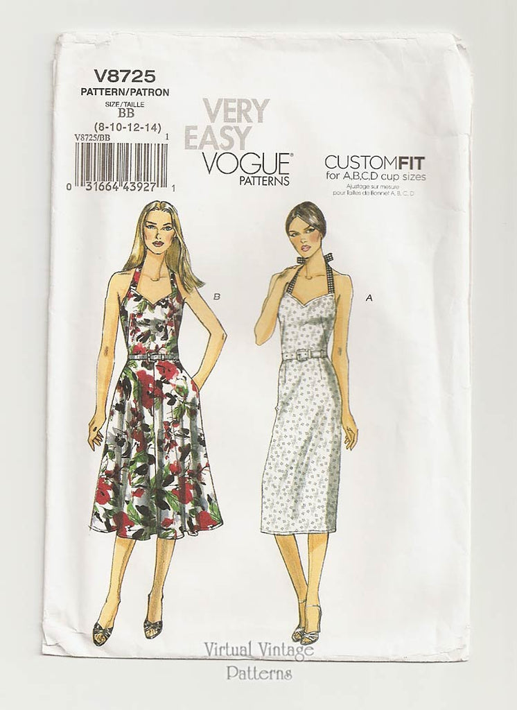 d954cf33d39 Easy Halter Dress Pattern