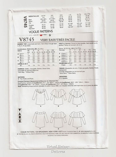 Very Easy Vogue V8745