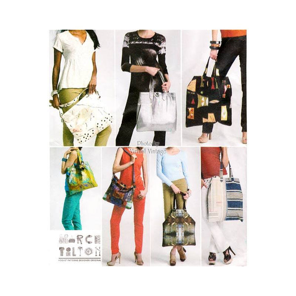Women's Tote Bag Pattern Vogue V8823