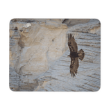 Golden Eagle photo mouse pad