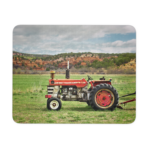 Massey Ferguson Tractor Mouse Pad, Father's Day Gifts, Computer Accessories